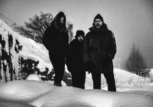 Motorpsycho band photo @ Lilleby 2019