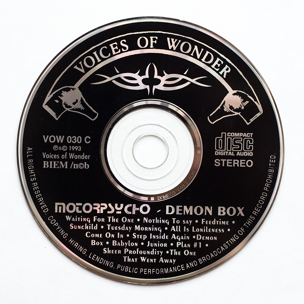 Demon Box cd