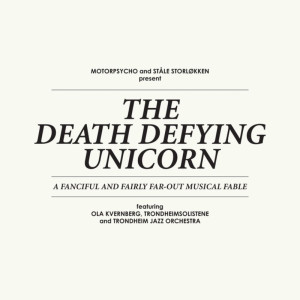 The Death Defying Unicorn cover front