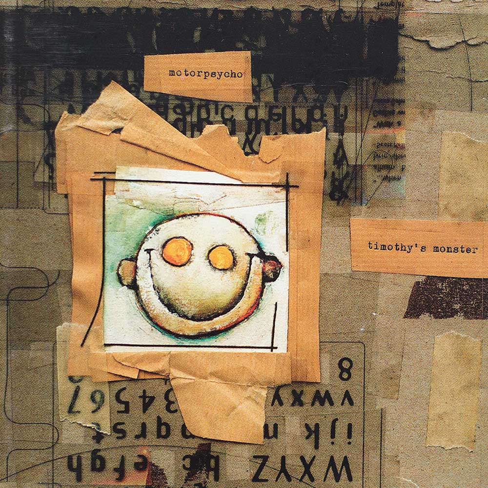 Timothy's Monster cover front