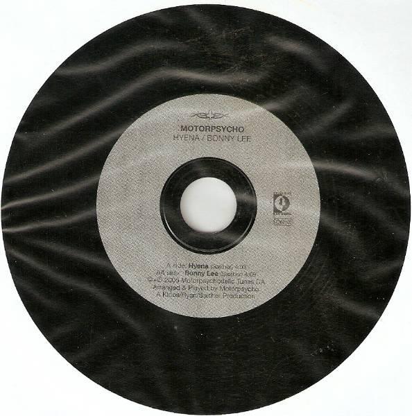 Hyena / Bonny Lee cover front
